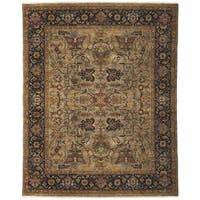 Bethany Camel Traditional Hand-knotted Rug - 2' x 3'