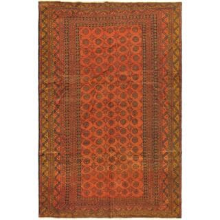 ecarpetgallery Royal Balouch Red Wool Rug (6'2 x 10'6)