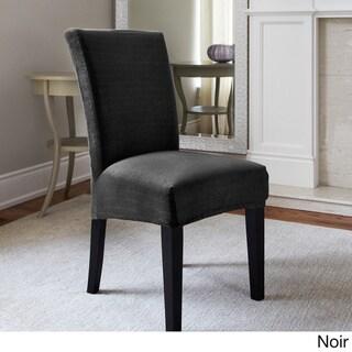 Maude Modern Stretch 1-Piece Dining Chair Slipcover