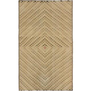 ecarpetgallery Anatolian Sun Wash Beige Wool Rug (6'6 x 10'9)