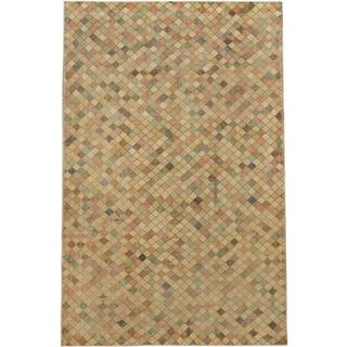 ecarpetgallery Anatolian Sun Wash Beige Wool Rug (6'10 x 10'4)