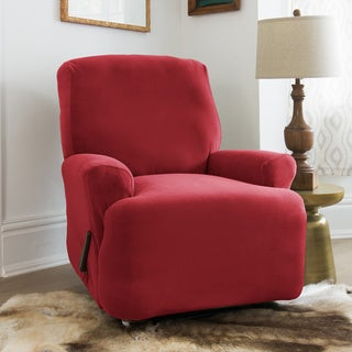 QuickCover Stretch Velvet Recliner Slipcover