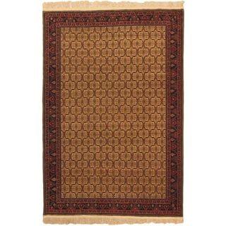 ecarpetgallery Keisari Brown Wool Rug (6'6 x 9'8)