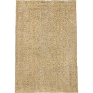 ecarpetgallery Anatolian Sun Wash Yellow Wool Rug (6'10 x 10'4)