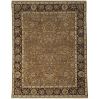 Bethany Oak Traditional Hand-knotted Rug (6' x 9') - 6' x 9'