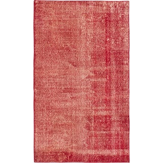 ecarpetgallery Color Transition Red Wool Rug (3'10 x 6'7)