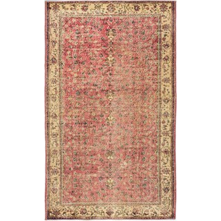 ecarpetgallery Anatolian Sun Wash Pink Wool Rug (3'10 x 6'7)
