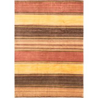 ecarpetgallery Aurora Copper Wool Rug (8' x 11')