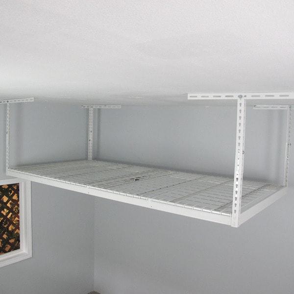 SafeRacks Overhead Garage Storage Rack (4' x 8')