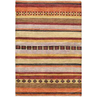 ecarpetgallery Finest Ziegler Chobi Pink Wool Rug (4'2 x 5'11)