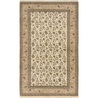ecarpetgallery Keisari Beige Wool Rug (4'10 x 8')