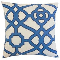 Faina Outdoor Down and Feather-filled 18-inch Throw Pillow
