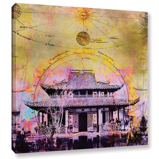 ArtWall Elena Ray 'Celestial Temple' Gallery-wrapped Canvas