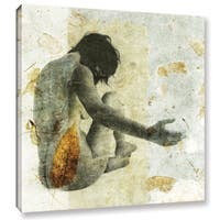 ArtWall Elena Ray 'Female With Opening Hand' Gallery-wrapped Canvas - Multi