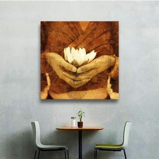 ArtWall Elena Ray 'Lotus' Gallery-wrapped Canvas