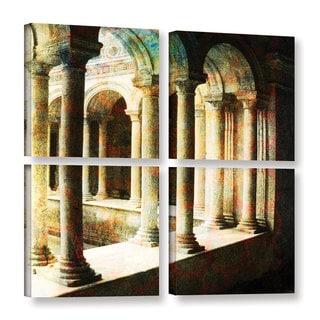 ArtWall Elena Ray 'Roman Architecture' 4 Piece Gallery-wrapped Canvas Square Set