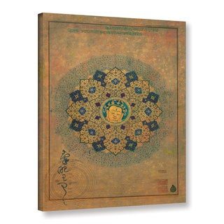 ArtWall Elena Ray 'Smiling Buddha' Gallery-wrapped Canvas