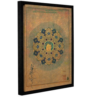 ArtWall Elena Ray 'Smiling Buddha' Gallery-wrapped Floater-framed Canvas