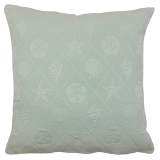 Naeva Outdoor Down and Feather-filled 18-inch Throw Pillow