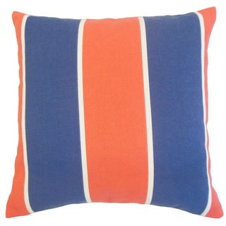 Hagan Geometric Down and Feather-filled 18-inch Throw Pillow