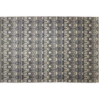 Fine Oushak Parveen Grey Hand-knotted Rug, (12'0 x 18'0)