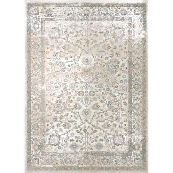 Home Dynamix Airmont Collection Traditional Ivory Area Rug 7 X27