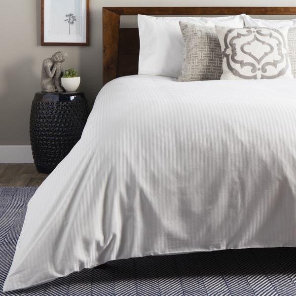 Brielle 100-percent Egyptian Cotton Sateen  630 Thread Count Duvet Cover