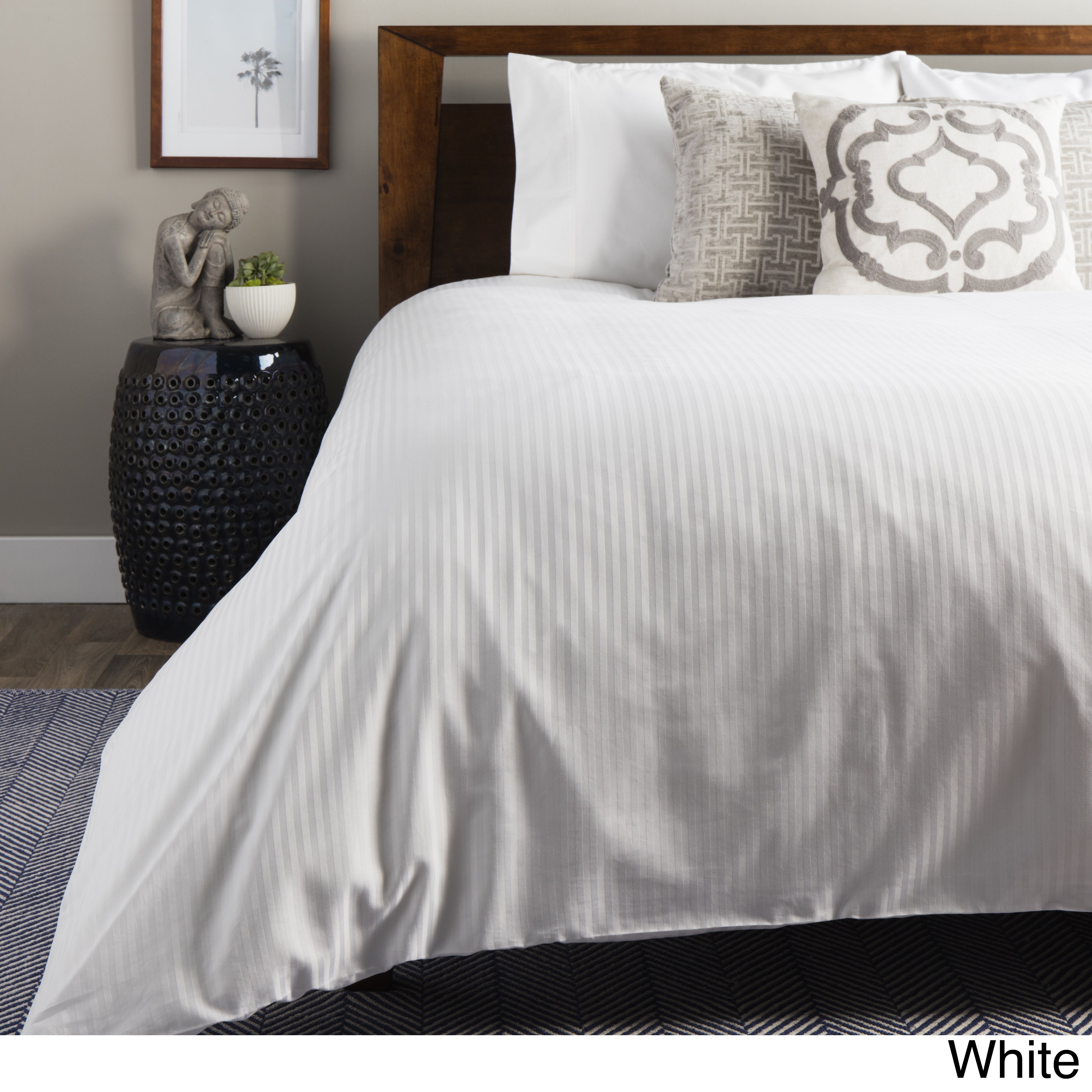 LUXURY Duvet Cover Set 1000TC 100/% Combed Egyptian Cotton Sateen  Grey color