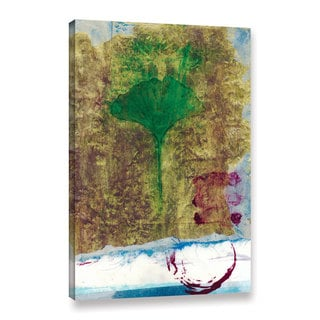 ArtWall Elena Ray 'Ginko Leaf' Gallery-wrapped Canvas