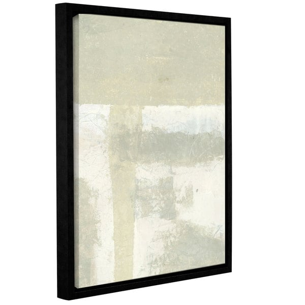 ArtWall Elena Ray 'Neutral Absract' Gallery-wrapped Floater-framed Canvas