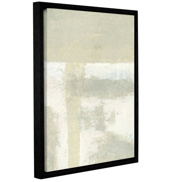 ArtWall Elena Ray 'Neutral Absract' Gallery-wrapped Floater-framed Canvas - Multi