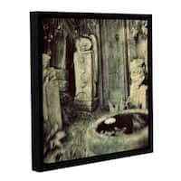 ArtWall Elena Ray 'Sculpture Garden' Gallery-wrapped Floater-framed Canvas - Multi