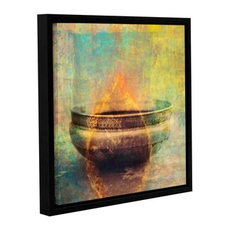 ArtWall Elena Ray 'Weathered Bowl' Gallery-wrapped Floater-framed Canvas