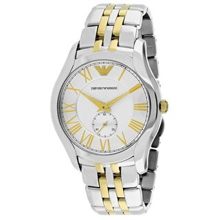Emporio Armani Men's AR1844 Classic Round Two-tone Stainless Steel Bracelet Watch