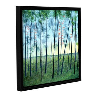 ArtWall Herb Dickinson's Andrews Forest, Gallery Wrapped Floater-framed Canvas
