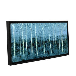 ArtWall Herb Dickinson's Aspen Abstract, Gallery Wrapped Floater-framed Canvas