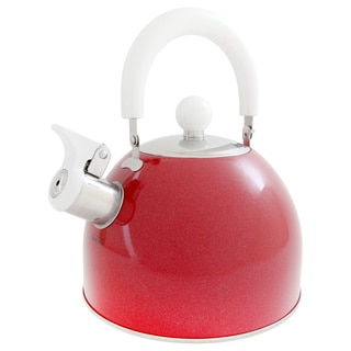 Mr Coffee Colorcraze Stainless Whistling 1.5 quart Tea/Coffee Kettle