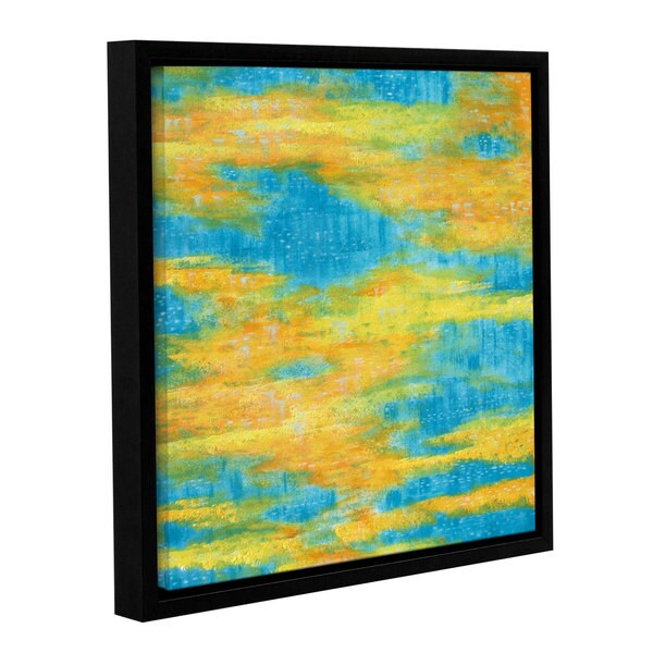 ArtWall Herb Dickinson's Clearwater, Gallery Wrapped Floater-framed Canvas