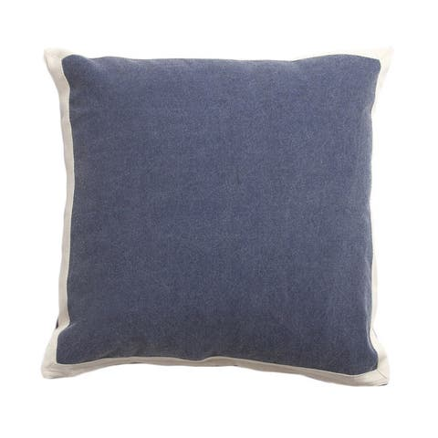 Theador Navy Blue 20-inch Throw Pillow