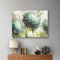 ArtWall Lisa Audit's Hydrangea Field, Gallery Wrapped Canvas