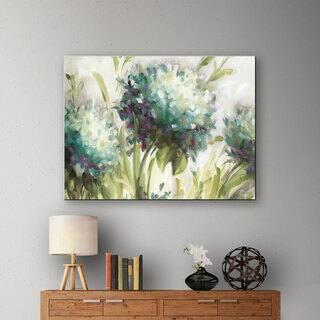 ArtWall Lisa Audit's Hydrangea Field, Gallery Wrapped Canvas