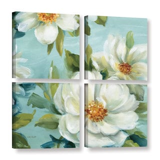 ArtWall Lisa Audit's Reflections II, 4 Piece Gallery Wrapped Canvas Square Set