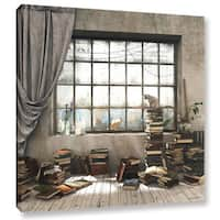 ArtWall Cynthia Decker 'The Introvert' Gallery-wrapped Canvas