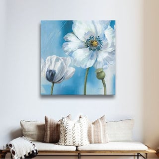 ArtWall Lisa Audit's Blue Dance III, Gallery Wrapped Canvas