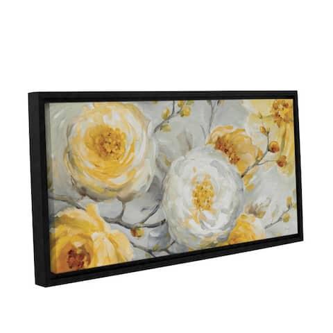 ArtWall Lisa Audit's Sunshine, Gallery Wrapped Floater-framed Canvas