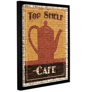 ArtWall Avery Tillmon's Top Shelf Café, Gallery Wrapped Floater-framed Canvas