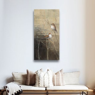 ArtWall Avery Tillmon's Sparrows At Dusk, Gallery Wrapped Canvas