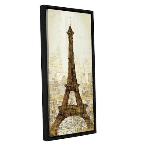 ArtWall Avery Tillmon's 5th Avenue Anatole, Gallery Wrapped Floater-framed Canvas