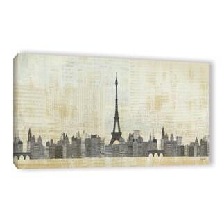 Avery Tillmon's 'Eiffel Skyline 1' Gallery Wrapped Canvas