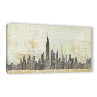 Avery Tillmon's 'Empire Skyline 1' Gallery Wrapped Canvas